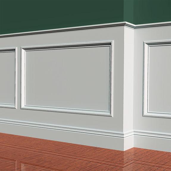1 x 4, 1 x 6, 1 x 12, 187F Base, 35F ECBCap & 213F Panel Moulding