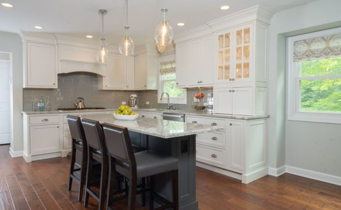 North Whales Kitchen with Starmark Cabinetry