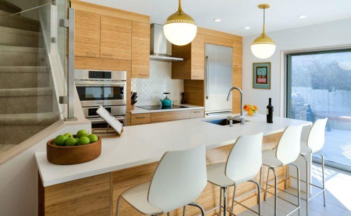 Modern Lambertville Kitchen with Ultracraft