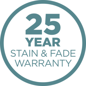 25 year stain and fade warranty