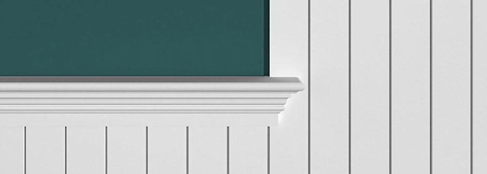 GSL beaded panel modern grooves