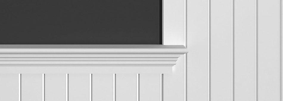 GSL beaded panel V-Grooves