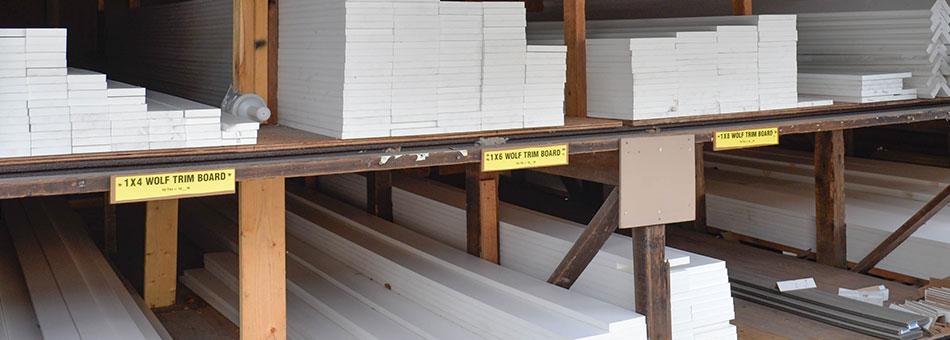 Wolf PVC Trim boards Supplier