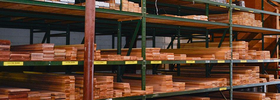 Square Edge Cedar Trim Boards