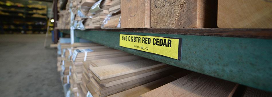 Cedar Framing Lumber