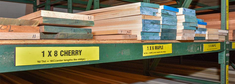 S4S Genuine Hardwood Trim Boards