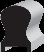 OAK8 Keyhole Hand Rail