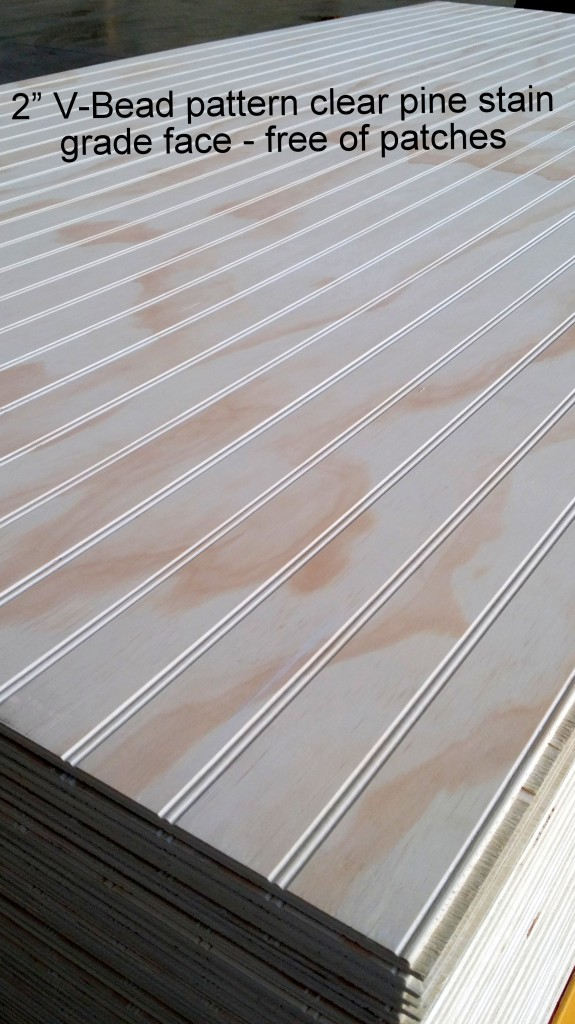 New Revbead Reversible Beaded Panel In Stock Niece Lumber