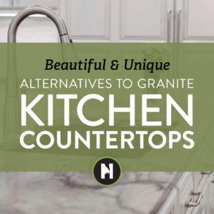 Beautiful and Unique Alternatives to Granite Kitchen Countertops