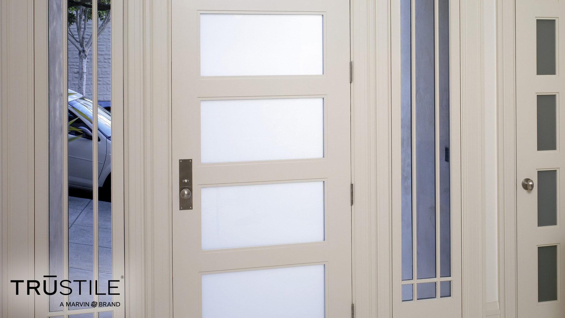 TruStile White Door