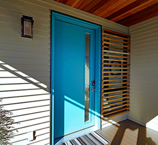 Simpson Contemporary Wood Doors Available Through Niece