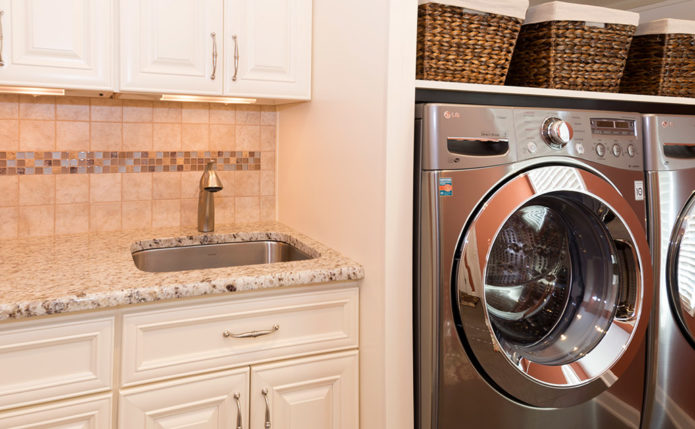 Pennington Laundry Room with Wolf Cabinetry