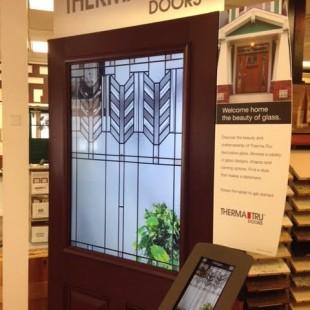 New Interactive Display at Niece Lumber