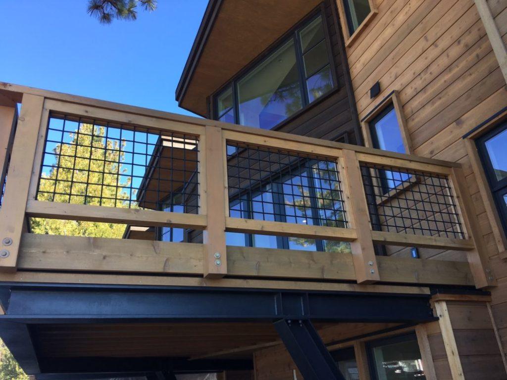 Wooden Deck Panels ~ Wild hog rail now stocked niece lumber